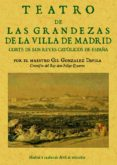 LIBRO PRIMERO DE LAS GRANDEZAS DE LA VILLA DE MADRID (REPROD. FAC SIMIL DE LA ED. DE MADRID, 1623) - 9788497610452 - GIL GONZALEZ DAVILA