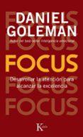 FOCUS - 9788499883052 - DANIEL GOLEMAN