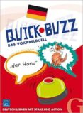 QUICK BUZZ - DAS VOKABELDUELL: SPRACHSPIEL DEUTSCH - 9783196995862 - VV.AA.