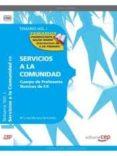 CUERPO DE PROFESORES TÉCNICOS DE F.P. SERVICIOS A LA COMUNIDAD. TEMARIO VOL. I. - 9788468131962 - VV.AA.