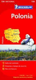 POLONIA 2012 (1:700000) (REF. 720) (MAPA NATIONAL) - 9782067171572 - VV.AA.