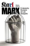 EL DIECIOCHO BRUMARIO DE LUIS BONAPARTE - 9788420693972 - KARL MARX