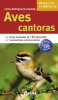 AVES CANTORAS (MINIGUIAS DE BOLSILLO) - 9788492678372 - VV.AA.