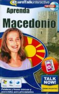 TALK NOW: APRENDA MACEDONIO. NIVEL ELEMENTAL (CD-ROM) - 9781843521082 - VV.AA.