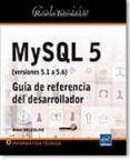RECURSOS INFORMÁTICOS MYSQL 5 (VERSIONES 5.1 A 5.6) - GUÍA DE REFERENCIA DEL DESARROLLADOR - 9782746083882 - VV.AA.
