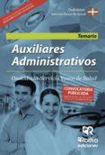 AUXILIARES ADMINISTRATIVOS. OSAKIDETZA SERVICIO VASCO DE SALUD. TEMARIO - 9788416266982 - VV.AA.