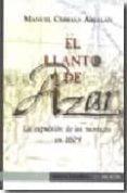 EL LLANTO DE AZAR - 9788493650582 - MANUEL CEBRIAN ABELLAN
