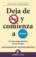 DEJA DE HABLAR Y COMIENZA A ACTUAR - 9788496627482 - SHAA WASMUND
