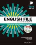 PACK ENGLISH FILE. LEVEL ADVANCED. STUDENT S BOOK (+ WORKBOOK) - 3RD EDITION - 9780194502092 - VV.AA.
