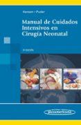 MANUAL DE CUIDADOS INTENSIVOS EN CIRUGIA NEONATAL - 9786077743392 - HANSEN