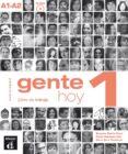 GENTE HOY 1 CUADERNO DE EJERCICIOS+CDD - 9788415620792 - VV.AA.