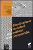 DIMENSION EUROPEA E INTERCULTURAL EN LA ENSEÑANZA DE LAS CIENCIAS SOCIALES - 9788477388692 - RAFAEL VALLS