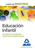 CUERPO DE MAESTROS EDUCACIÓN INFANTIL. SECUENCIA DE UNIDADES DIDÁCTICAS DESARROLLADAS - 9788490930892 - VV.AA.