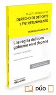 LAS REGLAS DEL BUEN GOBIERNO EN EL DEPORTE - 9788491356592 - LUIS MARIA CAZORLA PRIETO