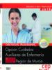 oposiciones gobierno de la region de murcia tecnicos auxiliares, opcion cuidados auxiliares de enfermeria-9788468145822