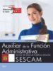 auxiliar de la funcion administrativa. servicio de salud de castilla - la mancha (sescam). test-9788468177922