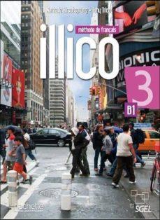 Descargas de revistas de ebooks ILLICO 3 ALUMNO + DVDR 9782015135502