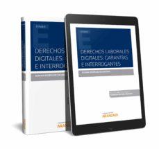 Descarga gratuita para ebooks pdf DERECHOS LABORALES DIGITALES. GARANTIAS E INTERROGANTES. de SUSANA RODRIGUEZ ESCANCIANO iBook PDF