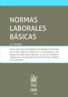 Followusmedia.es Normas Laborales Basicas (15ª Ed.) Image