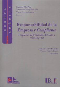 responsabilidad de la empresa y complianca-santiago mir puig-9788415276302