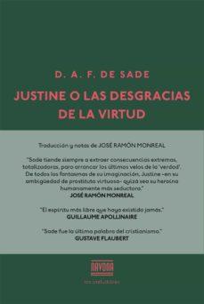 justine o las desgracias de la virtud-marques de sade-9788416259502