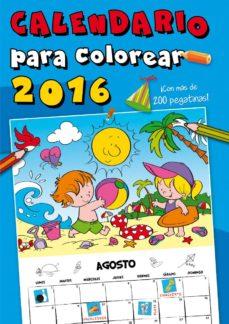 Geekmag.es Calendario Para Colorear 2016 Con Mas De 200 Pegatinas Image