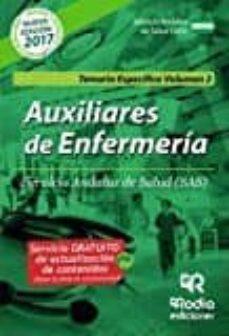 Padella.mx Auxiliares De Enfermería Del Sas. Temario Especifico. Vol 2. Image