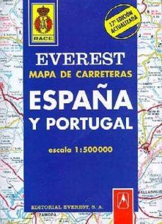 Colorroad.es Mapa Everest De Carreteras España Y Portugal 2006 (1:1500000) (19 ª Ed.) Image
