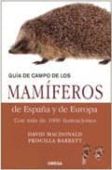 Iguanabus.es Guia De Campo De Los Mamiferos De España Y Europa Image