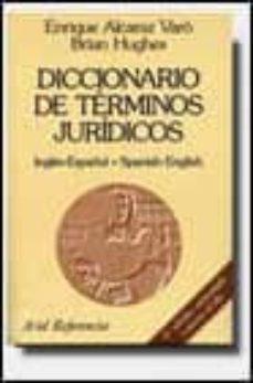 Eldeportedealbacete.es Diccionario De Terminos Juridicos. Ingles-español Español-ingles (6ª Ed.) Image