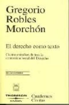 Iguanabus.es El Derecho Como Texto 2006 (2ª Ed.) Image