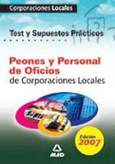 Permacultivo.es Personal De Oficios De Corporaciones Locales. Test Y Supuestos Pr Acticos Del Temario General Image