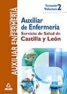 Javiercoterillo.es Auxiliares De Enfermeria Del Servicio De Salud De Castilla Y Leon (Vol. Ii): Temario Image
