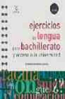 Mrnice.mx Ejercicios De Lengua Para Bachillerato Y Acceso A La Universidad Image