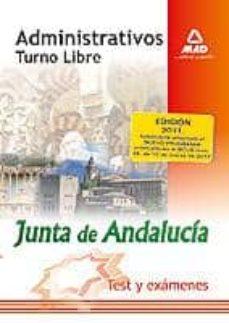 Curiouscongress.es Administrativos De La Junta De Andalucia. Turno Libre. Test Y Exa Menes Image