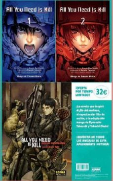 Iguanabus.es All You Need Is Kill. Pack Complet 1+2+novela Image