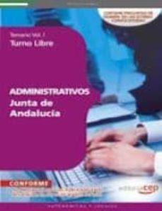 Javiercoterillo.es Administrativos De La Junta De Andalucia. Turno Libre Temario Vol I (11ª Ed.) Image