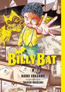 billy bat nº 8-naoki urasawa-takashi nagasaki-9788468476902