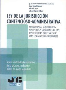 LEY DE LA JURISDICCION CONTENCIOSO-ADMINISTRATIVA. - JUAN B. LORENZO DE MEMBIELA   Adahalicante.org