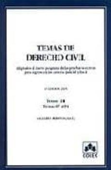 Concursopiedraspreciosas.es Temas De Derecho Civil (Vol. Iii) Image