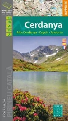cerdanya: alta cerdanya, capcir, andorra. mapa i guia excursionis mapa i guia excursionista escala 1:50.000-9788480907002