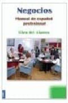Permacultivo.es Negocios: Manual De Español Profesional: Libro Del Alumno Image
