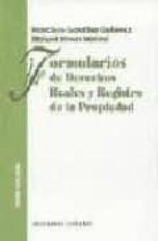 Milanostoriadiunarinascita.it Formularios De Derechos Reales Y Registro De La Propiedad (6ª Ed. ) Image