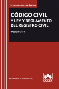 Mrnice.mx Codigo Civil Y Ley Y Reglamento Del Registro Civil (9ª Ed.) (Incl Uye Cd) Image