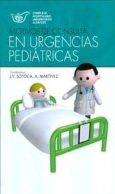 Descargar libro electrónico gratis ita MOTIVOS DE CONSULTA EN URGENCIAS PEDIATRICAS de J.V. SOTOCA in Spanish 9788484738602