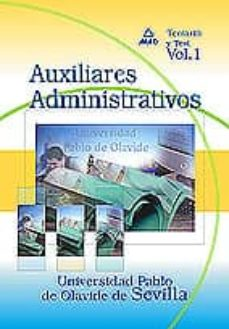 Permacultivo.es Auxiliares Administrativos De La Universidad Pablo De Olavide De Sevilla: Temario Y Test (Vol. I) Image