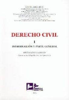 Inmaswan.es Derecho Civil (T. I): Introduccion Y Parte General (17ª Ed.) Image