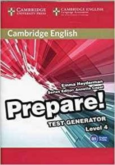 Descargar libros electrónicos google nook CAMBRIDGE ENGLISH PREPARE! TEST GENERATOR LEVEL 4 CD-ROM 9788490361702 de