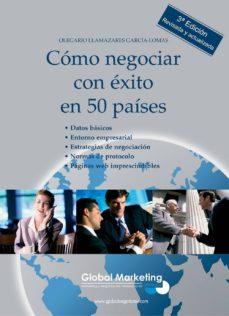 como negociar con exito en 50 paises-olegario llamazares garcia-lomas-9788493541002