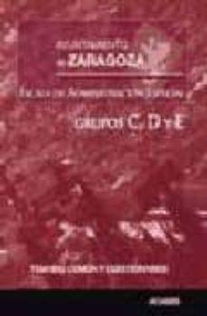 Permacultivo.es Escala De Administracion Especial Del Ayuntamiento De Zaragoza: G Rupos C, D Y E. Image